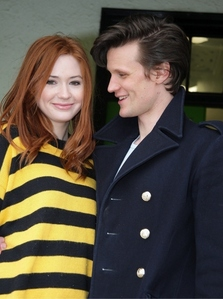Has Karen ever kissed Matt Smith?