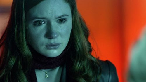 What is Karen's character on Doctor Who called?