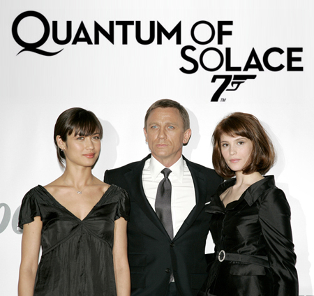 What's the name of her character in 'Quantum of Solace'?