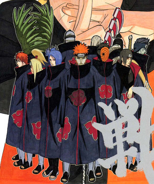How many Akatsuki are there? In total of old and new/hint Taka.