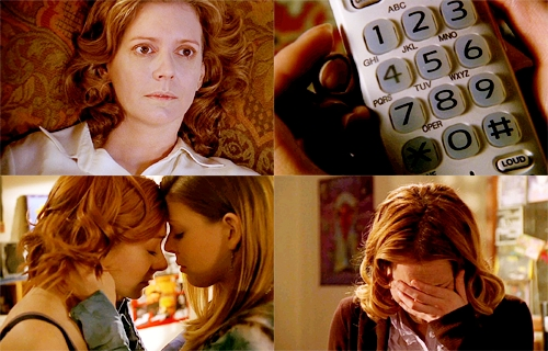 in wich season buffy`s mother die?