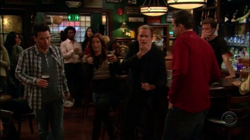 "What did Marshall reply when Barney said (after getting slapped) ""Your hand is MONSTROUS!"""