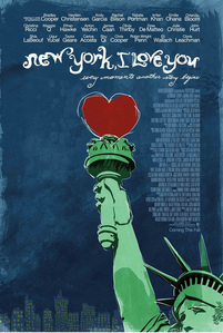 What is the name of his character in 'New York, I l'amour You'?