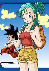How did Goku and Bulma meet