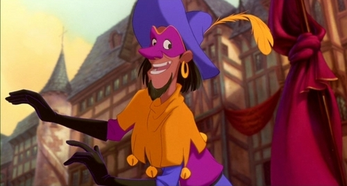 Which voice actor was both the singing and speaking voice of Clopin in the Hunchback of Notre Dame?