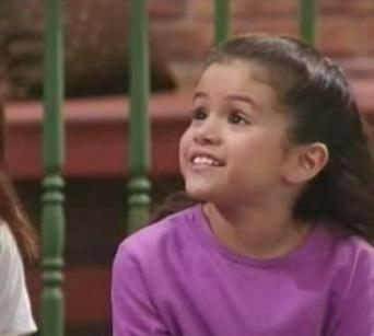 what age was selena gomez in barney