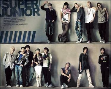do u 13elieve that super junior is always 13?