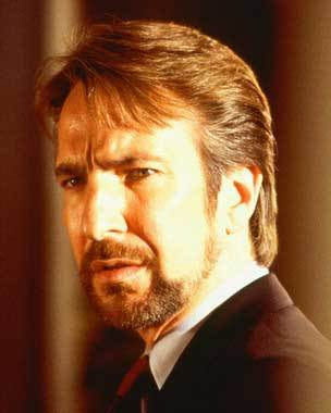 "How did Alan get the part of Hans Gruber in ""Die Hard""?"