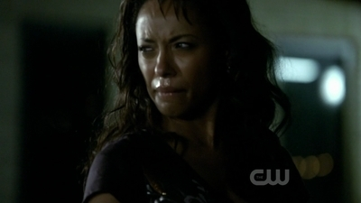 "What does Bonnie say to which Damon replies: ""Well don't pout about it?"""