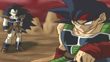 WHO are Bardock's two sons named??? pic below gives BIG hint to one of them!  (lol this question is easy!)