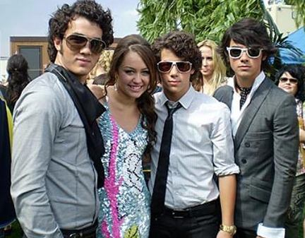 Why Miley jealous with the Jonas Brothers (in me and mr. jonas and mr. jonas and mr. jonas)?