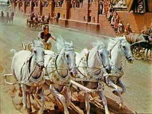 in ben-hur movie, win or lost ??