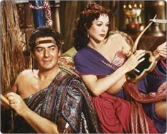 who is this woman with victor mature in samson & delilah ?