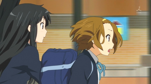 (S2)In EP03, Ritsu & Mio are late to class, Ritsu says it's due to staying up watching a DVD about a remote town with a horrible secret, which frightens Mio. What DVD?