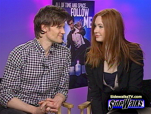 Would Matt miss Karen if she left Doctor Who?