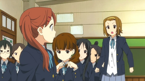 How many twin-tail (2 ponytail) classmates are there in 3-2?