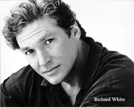 Besides being the Voice Actor for Gaston and a Broadway Star what is another of Richard Whites credentials? ( hint-ironic)