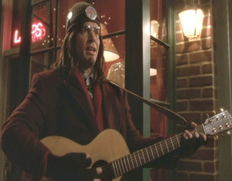When Tony goes undercover as a busker, what is his codename?