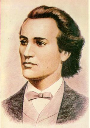 Mihai Eminescu was borned...