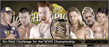 Who eliminated Chris Jericho from the Six-Pack Challenge at Night Of Champions 2010 pay per view ?