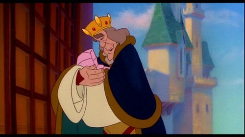 What is Princess Odette's father's name?