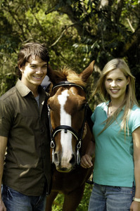 In season 2 when Emma is mounting a horse what does she do wrong?