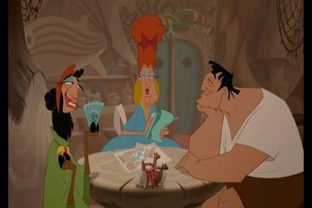 What does Pacha order from the Restaurant for him and Kuzco?