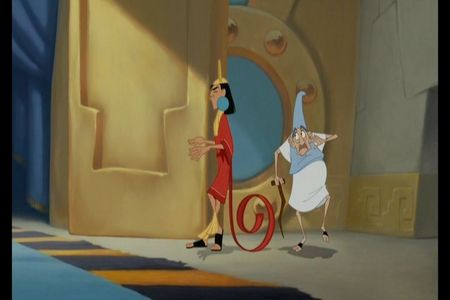 True/False: Kuzco has his own Theme Song Guy?