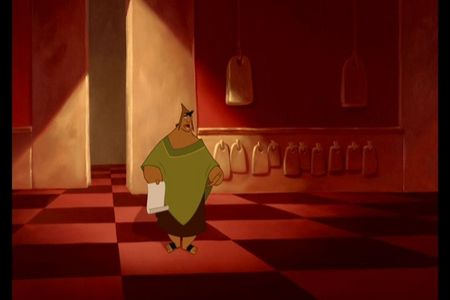 Why does Kuzco summon Pacha to the Palace?