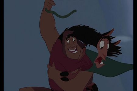 What ends up happening when Pacha saves Kuzco from the Jaguars?