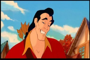 """ No one, fights like Gaston, douses lights like Gaston..."""