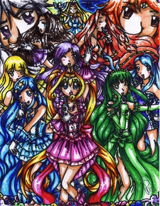 Who is my friends favorite character on Mermaid Melody?