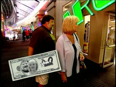 Where did Phil & April blow their money in 'Mall of Bam'?