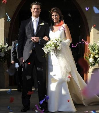 Xabi is married, what's the name of his wife?