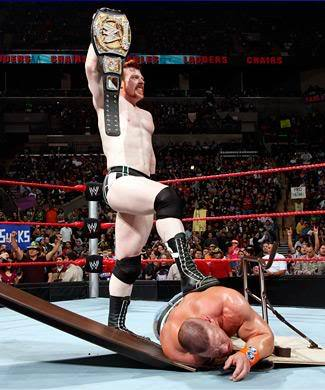 True or False : Sheamus is the first Irish-born WWE Champion .