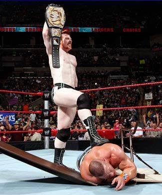 True or False : Sheamus is the first Irish-born WWE Champion .