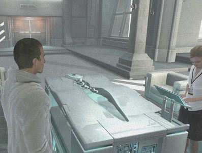 What is the name of the device used by Abstergo?