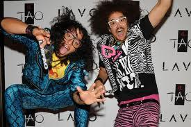 What part does the LMFAO's men play on their group?