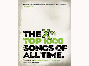 """How many Beatles' songs made it onto """"XFM's topo, início 1000 Songs of All Time"""" list?"""