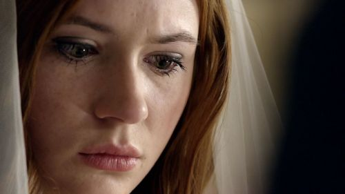 T/F: When Amy got married to Rory..she had no idea who the Doctor was