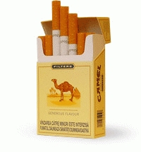 Until ____, Camel cigarettes contained minute particles of real camels.