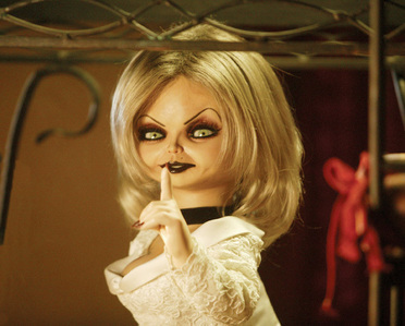 Seed Of Chucky: What does Tiffany call Jennifer Tilly, while Jennifer's giving birth?