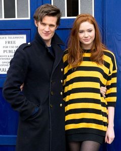 What taon did Matt and Karen sumali Doctor Who?