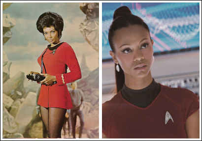 Who played Uhura in the original series?