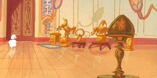 This is concept art from WHICH disney princess film?