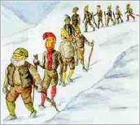"The jólasveinar, or ""yule lads"", are a traditional part of an Icelandic Christmas. What are they?"