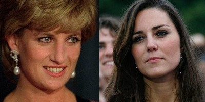 does kate look like lady diana ?
