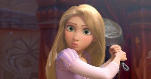 What is Rapunzel's real hair color?