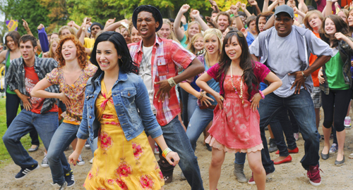 "How many times do we hear the word ""gonna"" in Camp Rock 2 song ""Brand New Day""?"