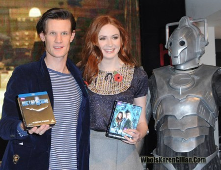 Matt & Karen appeared on Daybreak,BBC radio 1, BBC radio 2 and a HMV dvd signing all on the 8/11/10?